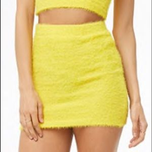 Two Piece Yellow Outfit - Brand New